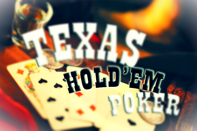 Texas Hold'em poker play offs.